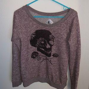 Volcom Skull Sweatshirt